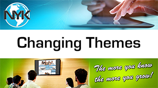 Changing themes on NYK websites for chiropractors
