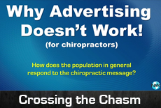 Why advertising doesn't work for chiropractic