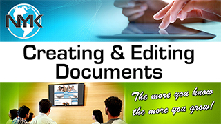 Creating and Editing documents for your NYK website for chiropractors