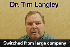 Dr Tim Langley talks about NYK services