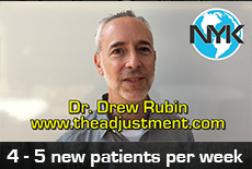 Dr Drew Rubin testimonial about his Website from NYK