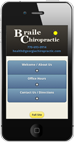 Free Mobile Chiropractic Website
